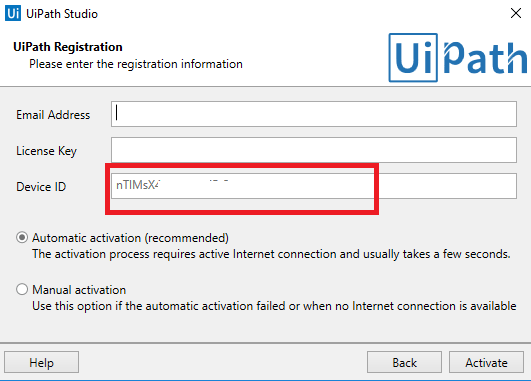 Renew UiPath Community Edition License – Test Automation Solutions